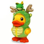 Canard Tirelire Dragon Vert