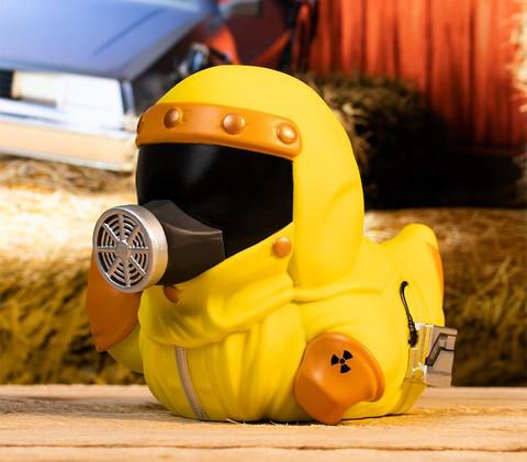 Canard Marty en Combinaison Anti-Radiation