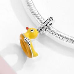 Charm Bouée Canard pour Bracelet