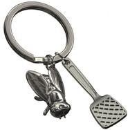 Porte clés Tapette à Mouche