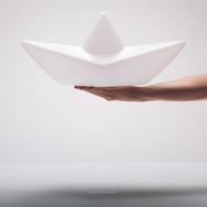 Lampe Bateau Origami «The Boat Lamp™»