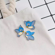 Pins Oiseaux Bleus