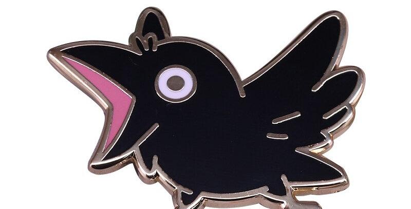 Pins Oiseau Noir