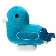 Coussin Canard Bleu