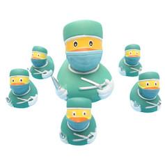 Mini Canard Chirurgien