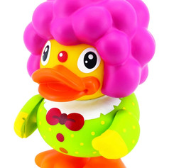 Canard Tirelire Clown