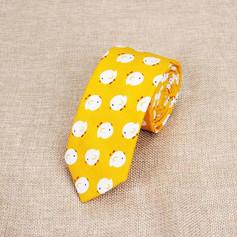 Cravate Poussin Blanc