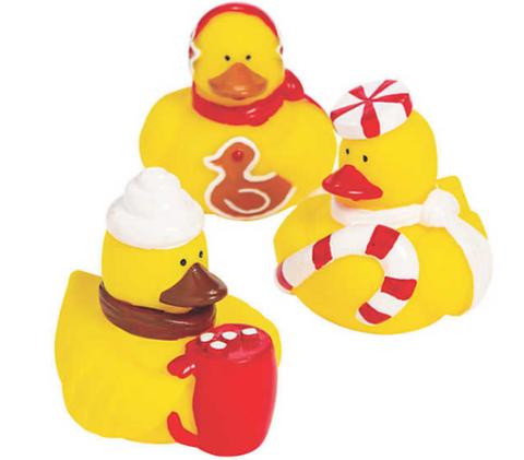 Mini Canard Friandise de Noël