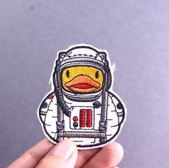 Patch Canard Astronaute