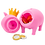Thumbnail: Cochon Rose Couronne