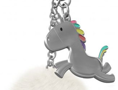 Unicorn Tower Bag Charm
