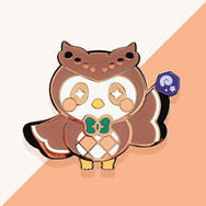 Pins Hibou Kawaii