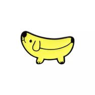 Pins Chien Banane
