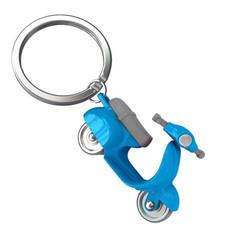Porte clés Scooter Retro Bleu