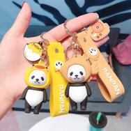 Porte Clés Panda Déguisé