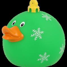 Canard Boule de Noël Vert