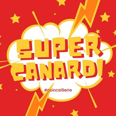 Autocollant Super Canard!