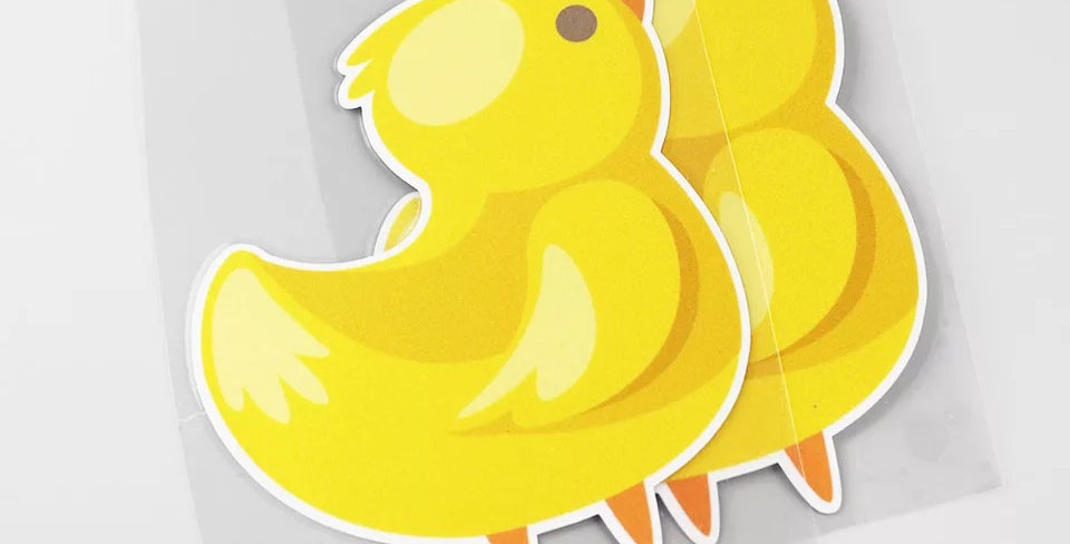 Yellow Duck Sticker
