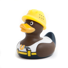 Mini Canard Construction Worker