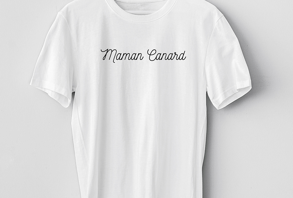T-Shirt Maman Canard