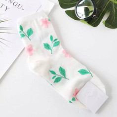 Chaussettes Rose Sauvage
