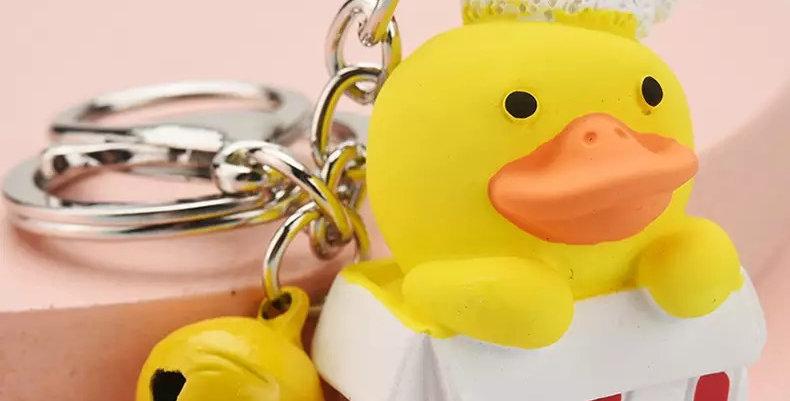 Porte-clés Canard Cadeau de Noël