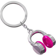 Porte clés Casque Rose