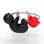 Porte clés Chat Noir