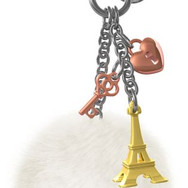 Bijou de Sac Tour Eiffel Dorée