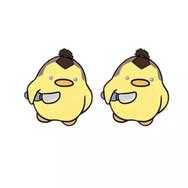 Boucles d'Oreilles Canard Sokka