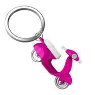 Porte clés Scooter Retro Rose