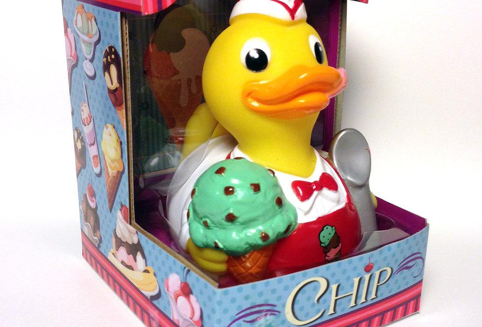Canard Glacier «Chip, the Ice Cream Duck»