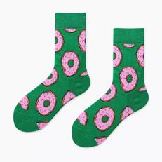 Chaussettes Donuts Vertes