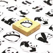 Pack Autocollants Pandas
