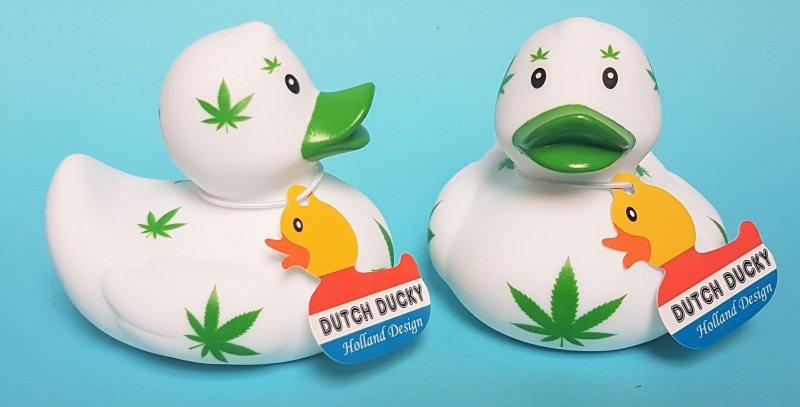 Canard de Bain Cannabis