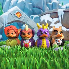 Canards Spyro the Dragon