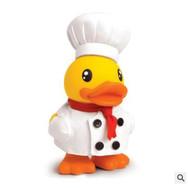 Canard Tirelire Cuisinier Jaune