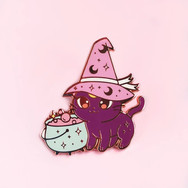 Pins Chat Sorcier
