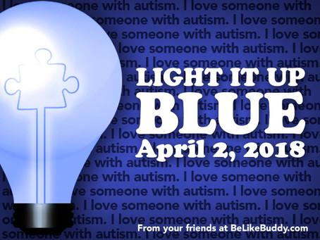 Ways to Light It Up Blue