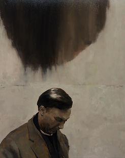 2014, FRAME series, 100x80 cm, oil on canvas