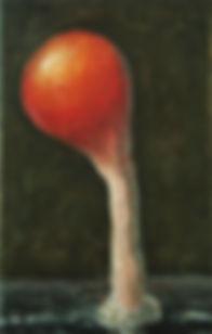 2012, Cortex Fungus series, 30x19 cm, oil on canvas