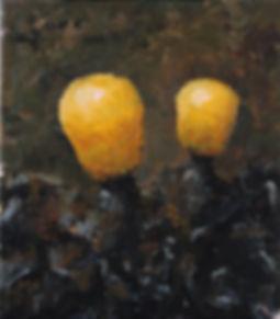 2012, Cortex Fungus series, 33x29 cm, oil on canvas