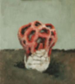 2012, Cortex Fungus series, 36x32 cm, oil on canvas