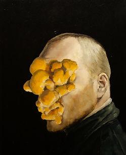 2013, Cortex Fungus series, 50x40 cm, oil on canvas