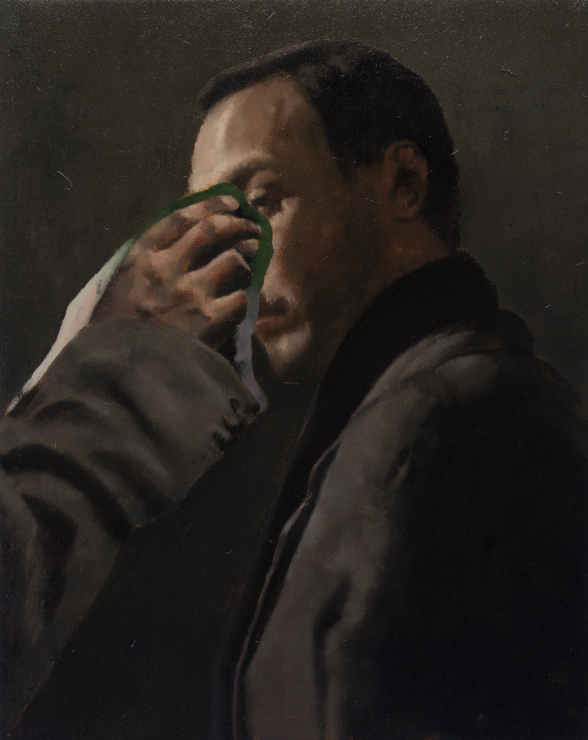 2015, FRAME series, 60x48cm, oil on canvas