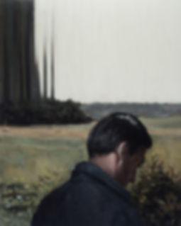 2015, FRAME series, 100x80 cm, oil on canvas