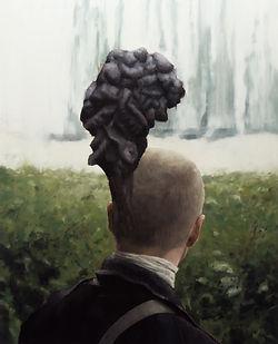 2013, Cortex Fungus Series, oil on canvas, 100x80
