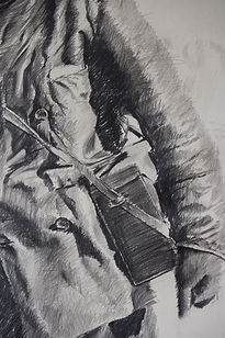 (Detail) 2015, Expedition, 164x120 cm, pencil on paper