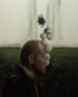 2013, Cortex Fungus series, 100x81 cm, oil on canvas