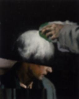 2014, FRAME series, 60x48cm, oil on canvas